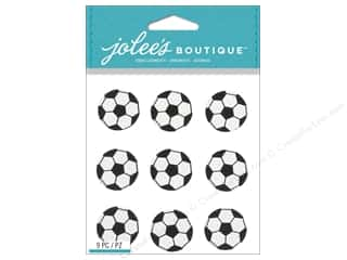 Jolee's Boutique Stickers Soccer Repeat