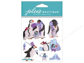 Jolee's Boutique Stickers Penguin Family