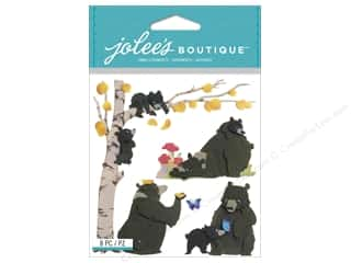 Autumn Leaves Stickers: Jolee's Boutique Stickers Bear Family