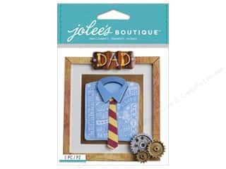 dad & gray blue: Jolee's Boutique Stickers Dad Frame