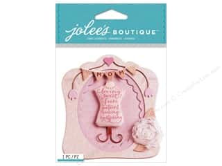 Mothers inches: Jolee's Boutique Stickers Mom Frame