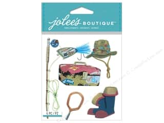 Jolee's Boutique Stickers Fishing