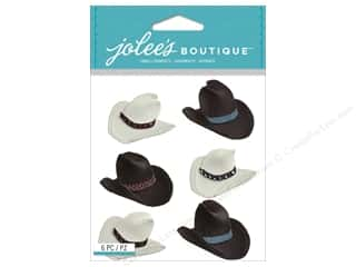 Bands Brown: Jolee's Boutique Stickers Cowboy Hats Repeat
