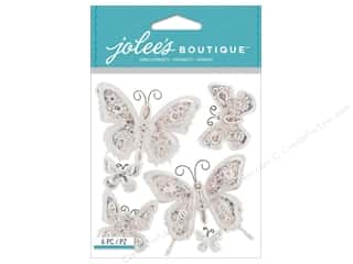 bling stickers: Jolee's Boutique Stickers Butterfly Bling