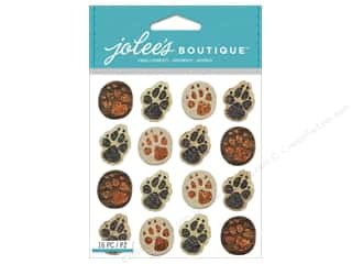 Paper Accents Animals: Jolee's Boutique Stickers Animal Tracks Repeats