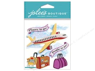 Felt Vacations: Jolee's Boutique Stickers Airplane