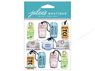 EK Success Vacations: Jolee's Boutique Stickers Travel Tags Repeat