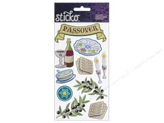 Religious Subjects Stickers: EK Sticko Stickers Passover Tradition