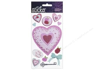EK Sticko Stickers Layered Hearts