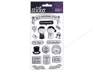 theme stickers  wedding: EK Sticko Sticker Best Wedding Ever