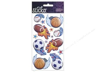 EK Sticko Stickers Dynamic Sports Balls