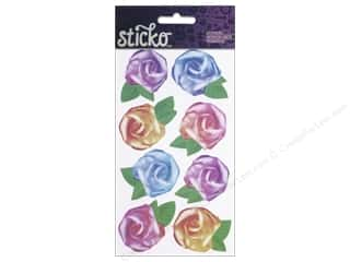 Clearance Accent Design Tissue: EK Sticko Stickers Tissue Roses