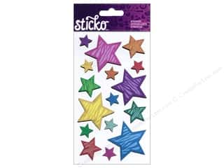 EK Sticko Stickers Animal Print Stars