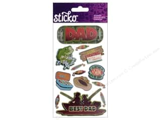 EK Sticko Stickers Fishing Dad