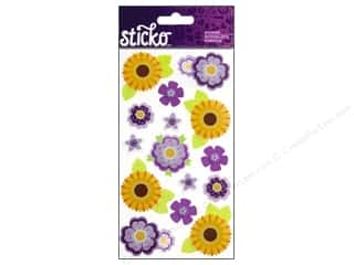 EK Sticko Stickers Layered Vellum Daisies