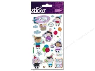 Birthdays EK Sticko Stickers: EK Sticko Stickers Cheers