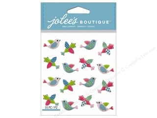 Jolee's Boutique Stickers Pink Birds Repeat