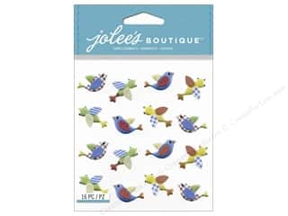 Jolee's Boutique Stickers Primary Birds Repeat