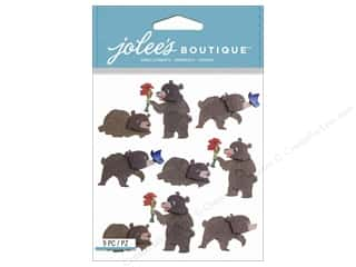 Jolee's Boutique Stickers Bears Repeat
