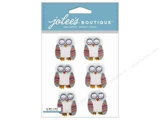 Jolee's Boutique Stickers Owl Repeat