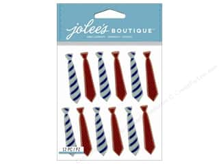 Jolee's Boutique Stickers Neck Ties Repeat