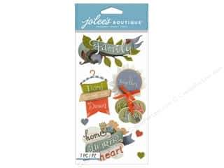 Jolee's Boutique Stickers Family Words