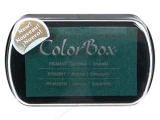 Pigments: ColorBox Pigment Inkpad Full Size Emerald