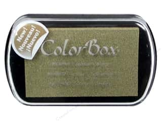 Stamping Ink Pads ColorBox Full Size Pigment Ink Pads: ColorBox Pigment Inkpad Full Size Burlap