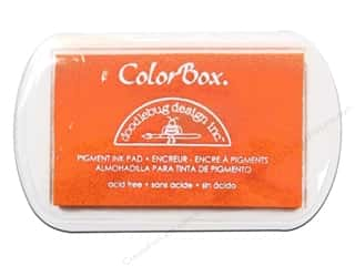 ColorBox Pigment Inkpad Full Size Doodlebug Tangerine