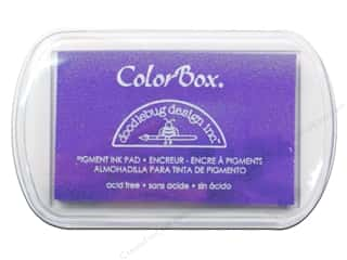 ColorBox Pigment Inkpad Full Size Doodlebug Lilac