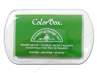 ColorBox Pigment Inkpad Full Size Doodlebug Limeade