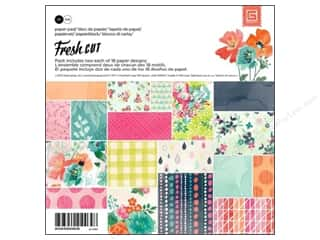BasicGrey Designer Papers & Cardstock: BasicGrey Paper Pad 6 x 6 in. Fresh Cut 36 pc.