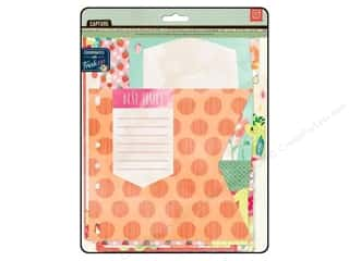 BasicGrey Designer Papers & Cardstock: BasicGrey Capture Designer Journal Inserts 10 pc. Fresh Cut