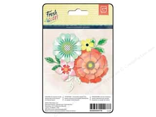 Canvas Home Basics Embellishment Flowers / Blossoms / Leaves: BasicGrey Paper Flower Kit Fresh Cut