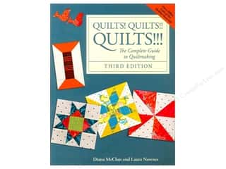 Tools $8 - $12: Breckling Press Quilts! Quilts! Quilts! Book by Diana McClun and Laura Nownes