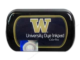 Rubber Stamping New: ColorBox Dye Ink Pad University of Washington Purple