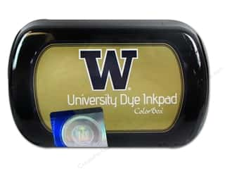 ColorBox Dye Ink Pad University of Washington Gold