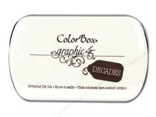 Pens Stock Up Sale: ColorBox Dye Inkpad Full Size Graphic 45 Decades Dark Cashmere