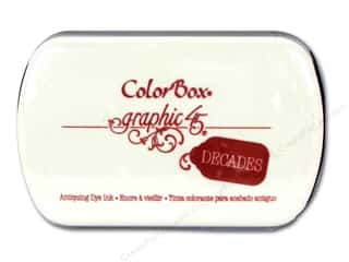 Fall Sale Graphic 45: ColorBox Dye Inkpad Full Size Triumphant Red