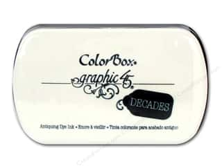 Stamping Ink Pads Holiday Sale: ColorBox Dye Inkpad Full Size Graphic 45 Decades Bon Voyage Blue