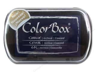 Clearance ColorBox Fluid Chalk Ink Pad Mini Size: ColorBox Fluid Chalk Inkpad Full Sz Concord