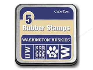 Licensed Products $5 - $25: ColorBox Rubber Stamp Set University of Washington