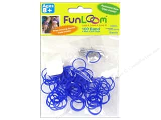 FunLoom Silicone Bands Mood Purple 100pc
