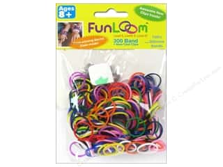FunLoom Silicone Bands Variety Pack 300pc