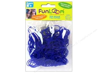 Kids Crafts Summer Fun: FunLoom Silicone Bands Purple Violet 300pc