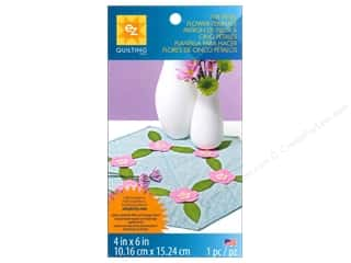 EZ Notions Stencils: EZ Quilting Template Shapes Five Petal Flower