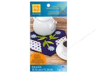 Flowers Sewing & Quilting: EZ Quilting Template Shapes Nine Petal Flower