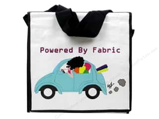 Tote Bag Black: Fabric Fanatics Messenger Bag Powered By Fabric