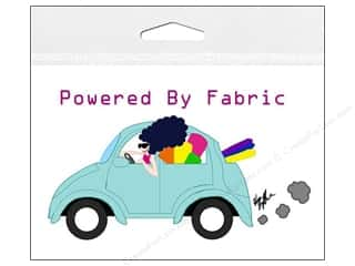 Captions Gifts & Giftwrap: Fabric Fanatics Window Cling Powered By Fabric