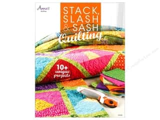 Sewing Construction Annie's Attic: Annie's Stack, Slash & Sash Quilting Book